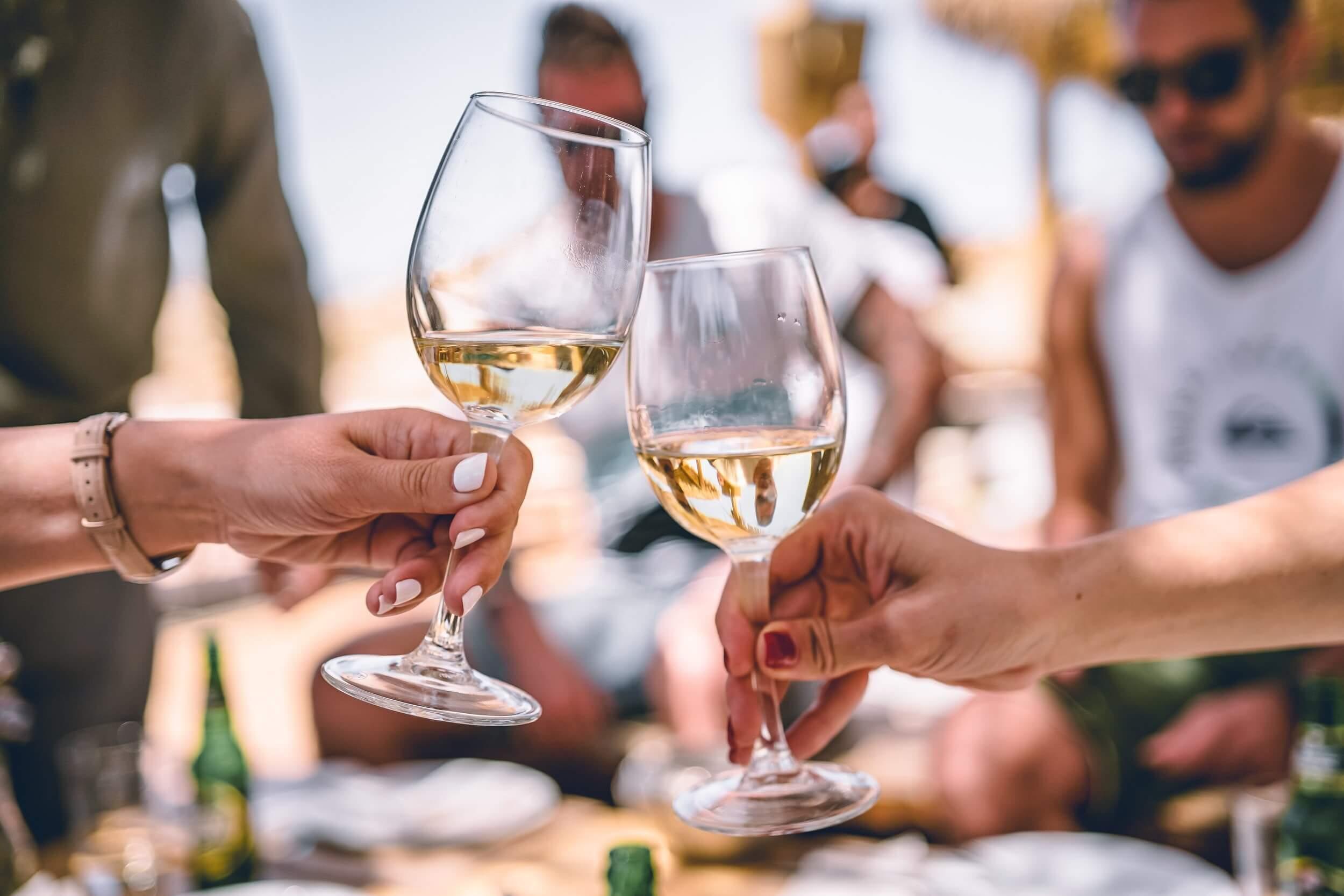 Dentist Wagga FAQ - Is Alcohol Bad For My Teeth  on Morgan Street Dental Centre - Wine Glass on a Toast