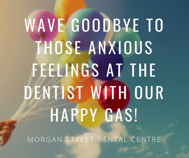 Morgan Street Dental Centre Anxious Patients - Freeing Anxious Feelings Like Flying Balloons happygas