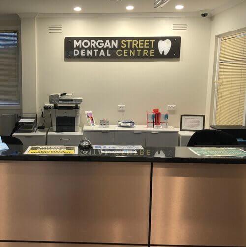 Morgan Street Dental Centre Dental Practice Technology - Morgan Street Front Desk Office