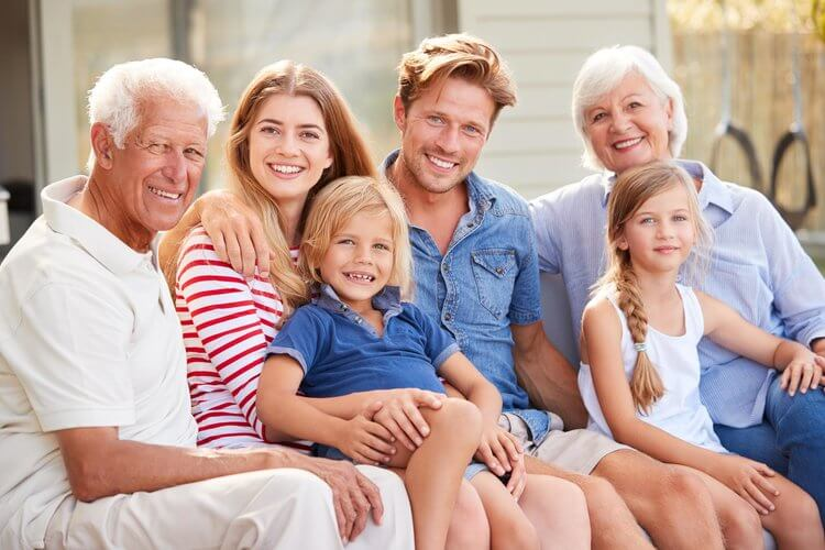 Morgan Street Dental Centre General Dentistry Treatments - Family Picture Great Teeth - Multi Generation