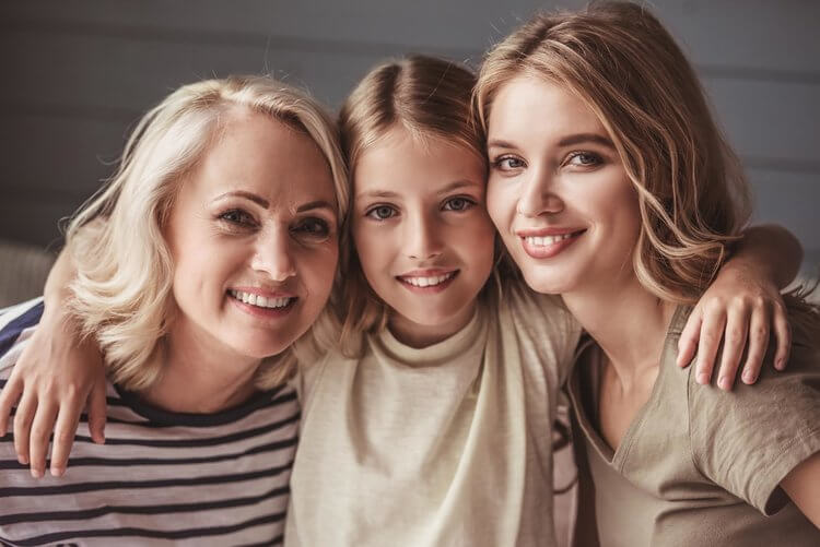 Morgan Street Dental Centre General Dentistry Treatments - Women with Beautiful White Teeth - Mother and Daughter